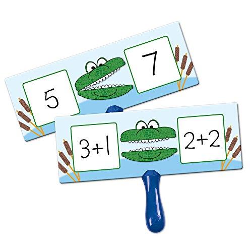 Learning Resources Carton de Réponse Alligator Plus Grand Que