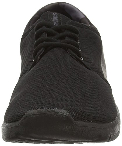 Etnies  SCOUT, Chaussures de Skateboard homme Noir (Black Grey Black 005)