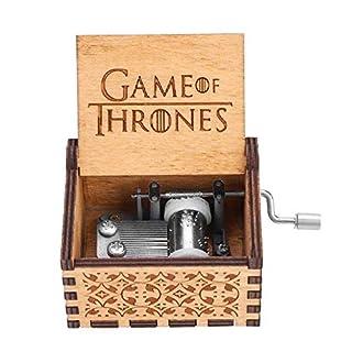 Anano Classic Game of Thrones Music Box Pure Hand Classic Hand-wooden Music Box Creative Wood Craft