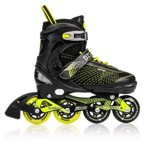 line Skates | Kinder | Damen | Herren | Größenverstellbar 30-33 / 34-37 / 38-41 | ABEC7, Größe:M (34-37) (Rollerblades Herren Klein)