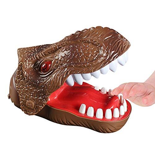 ALIKEEY Natale Giocattolo Educativi per Bambini Gioco di Dinosauro Dentista Classico Mordere Mano Dito Giocattoli Divertente Gioco di Partito