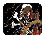 Tapis de Souris albator Capitaine de l Espace Anime Annee 80 Dorothee Harlock Pirate