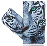 FoneExpert® Vodafone Smart Prime 7 Handy Tasche, Wallet Case Flip Cover Hüllen Etui Hülle Ledertasche Lederhülle Schutzhülle Für Vodafone Smart Prime 7