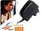 SR Global High Speed 2.1 Amp Charger Compatible for All Smartphones with Free OTG Model 139196