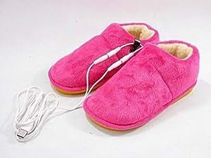Chaussons Chauffants USB - Ultra Confort Chaussons Chauffants USB (Rose)