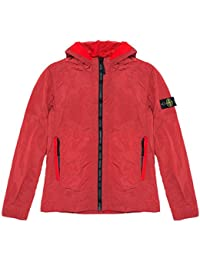 Stone Island Jacket - Spring Summer 2018 Junior Red Nylon Metal Hooded Jacket – RRP £255 (681640435 V0010)