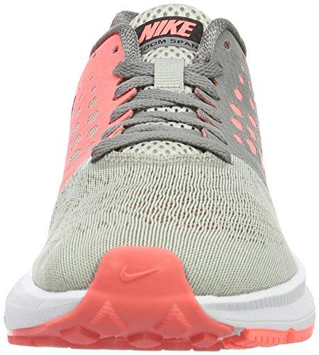 Nike Zoom Span W, Scarpe da Corsa Donna Grau (DUST/BLACK-LAVA GLOW-PALE GREY)