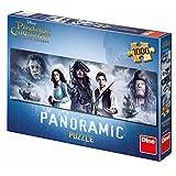 Dinotoys 545335 Hoher Qualität Breite Panorama Puzzle;Fluch der Karibik, 1000 Stück