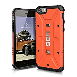 Urban Armor Gear Composite Case für Apple iPhone 6/6S Rost (orange)