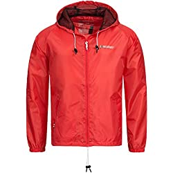 Chubasquero Cortavientos Geographical Norway Rojo XL