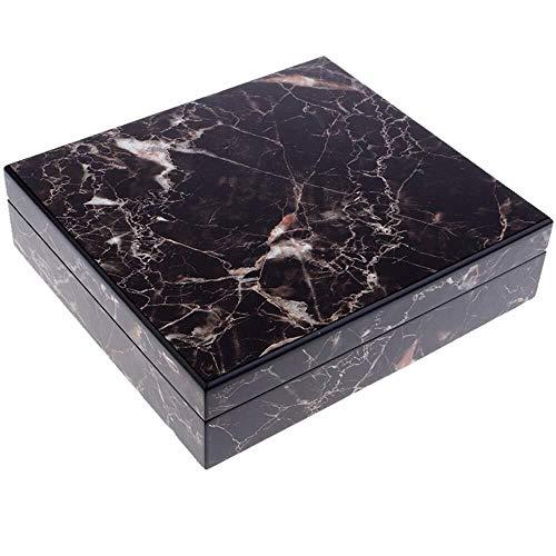 XYKEG Desktop Humidor, Zigarren Humidor Zigarrenbox Holz Humidor Für 10-20 Zigarren Desktop Box Humidor Mit Hygrometer Und Luftbefeuchter (10 Humidor)