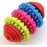 aaa226Pets Hunde Welpen Kauspielzeug Colorful Gummi Dental Gesunde Zähne Spielzeug