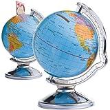 Spardose Globus, Farbe: mehrfarbig