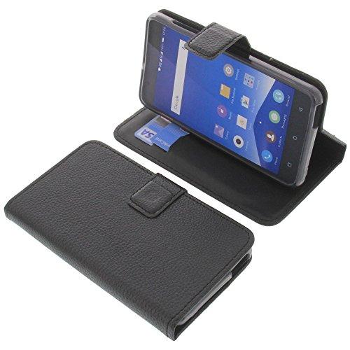 Tasche für Mobistel Cynus F10 Book Style schwarz Schutz Hülle Buch