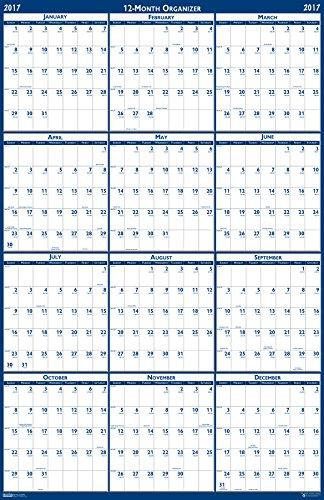 House of Doolittle 2016-2017Calendario accademico laminato da parete Anno di calendario 24 x 37