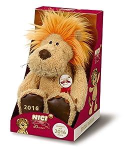 Nici 38932-León 30años de peluche en cartón de regalo, 35cm