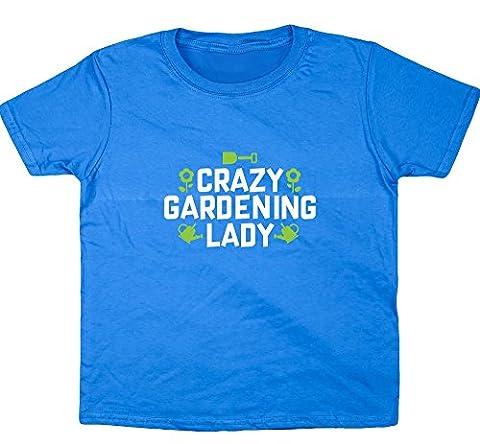 HippoWarehouse - T-shirt - Fille 6 ans - bleu - 11 ans