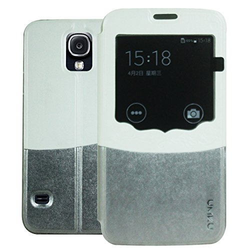 Heartly Designed Premium Luxury Pu Leather Flip Bumper Case Cover For Samsung Galaxy S4 i9500 - Metal Grey  available at amazon for Rs.149