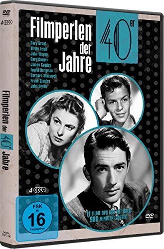 Preisvergleich Produktbild Filmperlen der 40er Jahre-Deluxe Box (4 Dvds)