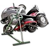 Hebevorrichtung Reinigungshilfe Rasentraktor-Heber Aufsitzmäher Mowerlifter