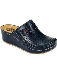 Amazon.it  sabot donna - Blu   Pantofole   Scarpe da donna  Scarpe e ... 3d4bcdadf99