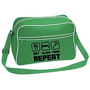 Unofficial Eat Sleep Mine Repeat Shoulder Bag (Just Logo)