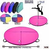 Die besten Matratze Bewertungen - XN8Dance Mat Pole Gymnastikball Übung Yoga Fitness Dancing Bewertungen
