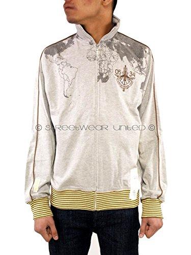 Rocawear - Chaqueta Deportiva - para Hombre Gris Gris Small ba45381bc