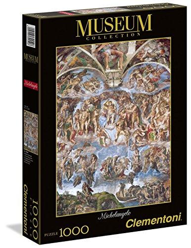 Clementoni 39250 - Puzzle Museum Michelangelo G.U., 1000 pezzi