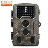 Wildkamera Fivanus 16MP 1080P Full HD Infrarot Wildkamera 120°Breite Vision