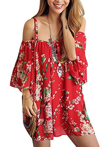 womens-beachwear-swimwear-bikini-beach-wear-cover-up-kaftan-shirt-red
