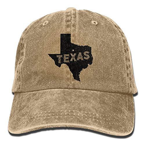 Yuting Gorras béisbol Texas Home Star Denim Hat Adjustable Male Baseball  Caps 216f434f26cf