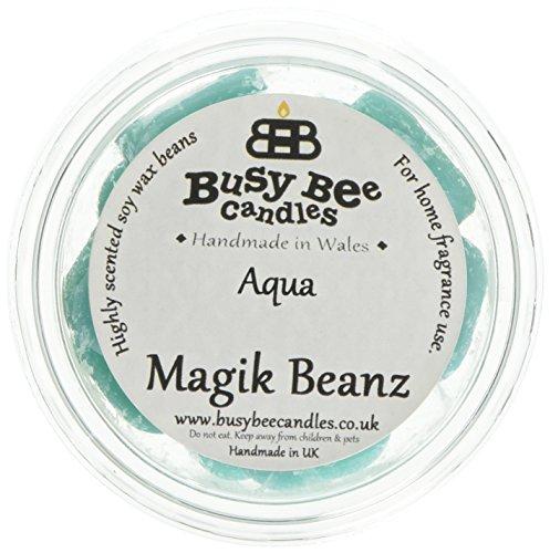 busy bee candles aqua