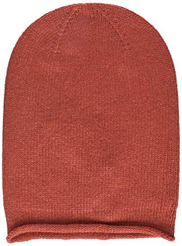 PIECES Damen PCROSE Oversize Cashmere Hood NOOS Strickmütze, Rot (Cranberry), One Size