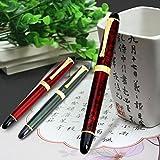 zrshygs Calligraphy Pen For Beginners Luxury JINHAO X450 Carven B/Medium Nib Fountain Pen F