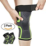 Genouillère Rotulienne Pour Sport Marche Arthrose Articulé Enfant Tendinite Neoprene Attelle Genou Compression Crossfit Basketball Volley Paire