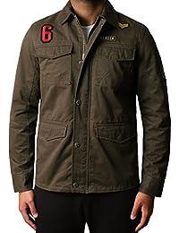 Hommes Designer Militaire Sergé Overshirt Veste HARTFORD BANG DMW017
