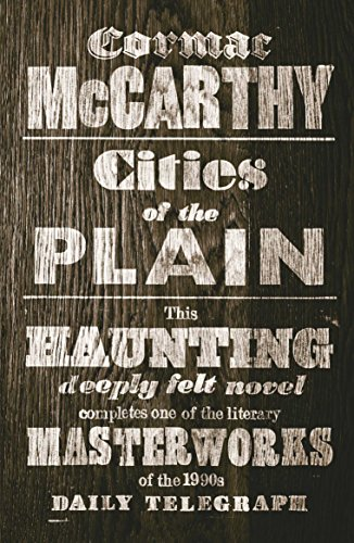 Cities of the Plain (Border Trilogy) por Cormac McCarthy