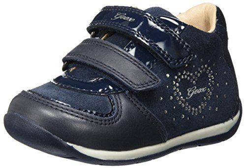 Geox Baby Mädchen B Each Girl B Sneaker, Blau (Navy), 24 EU (Navy Baby Kinder-schuhe)