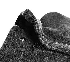 ZEESTORE Manteau 4 Pattes en Polaire pour Chien, Combinaison Hiver 100% Polyester - Plusieurs Tailles (XXL à XS)