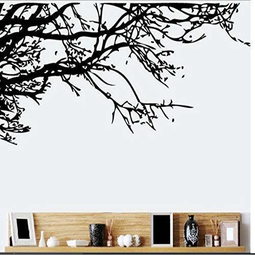 (WTTTL Wandaufkleber Aufkleber WandbildCartoon Wald Schwarz Baum Zweig Wandaufkleber Schlafzimmer Kinderzimmer Schlafzimmer Wohnzimmer Kinder Schlafzimmer Wohnkultur)