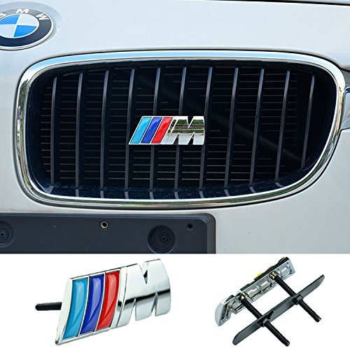 cogeek-3d-metal-sport-m-front-hood-grill-grille-badge-emblem-stickers-screws-car-styling-accessories