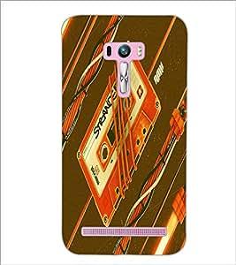 PrintDhaba Casette D-5503 Back Case Cover for ASUS ZENFONE SELFIE ZD551KL (Multi-Coloured)