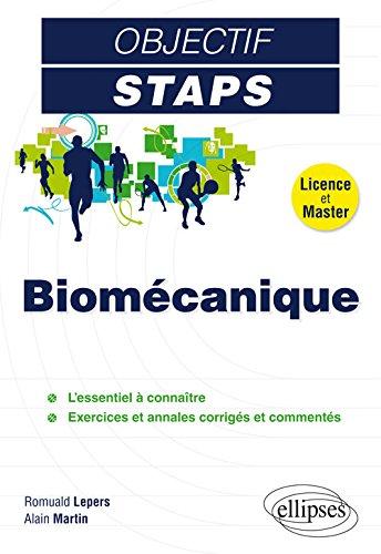 Biomécanique Objectif STAPS