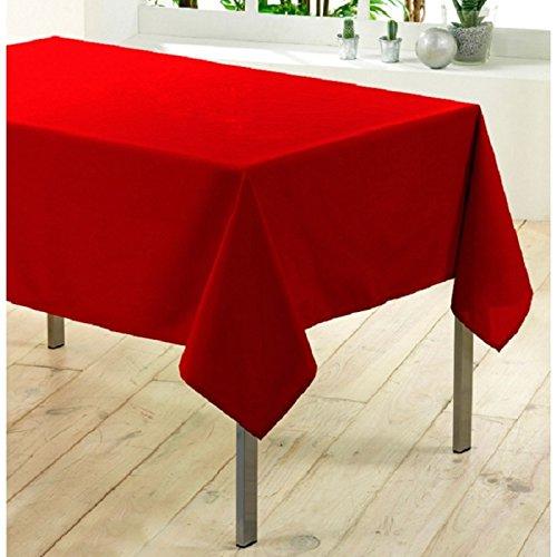 Nappe rectangulaire Essentiel (L300 cm) Rouge