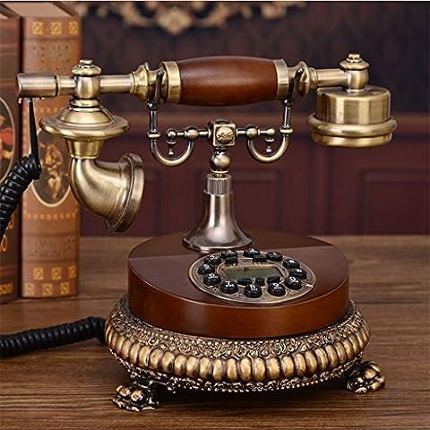 CHENGYI Europäisches Retro- Telefon-gehobenes Innenministerium-Art- und Weisekreative örtlich festgelegte Festnetz