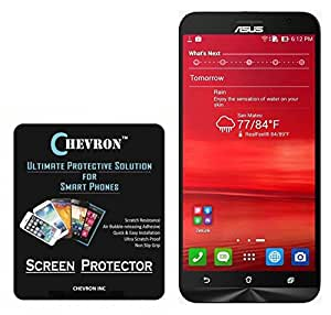 Chevron Aquashieldz Pro 0.33mm Tempered Glass Shatter Proof and Shock Absorbing Screen Protector for Asus Zenfone 2 ZE551ML