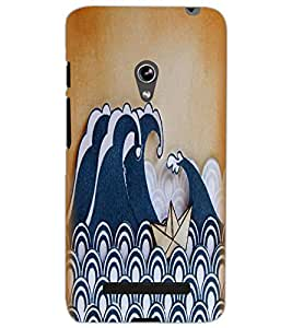 ASUS ZENFONE 5 A501CG BOAT Back Cover by PRINTSWAG