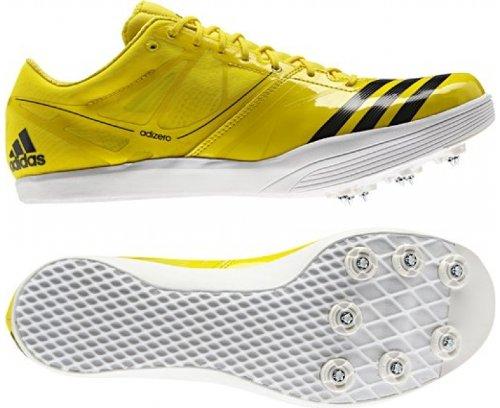 adidas Performance adizero LJ 2 Q34040, Scarpe da corsa unisex adulto Yellow