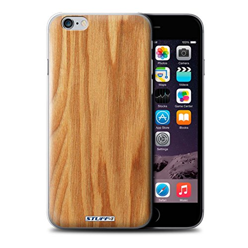 STUFF4 Phone Case / Cover for Apple iPhone 6S / Walnut Design / Wood Grain Effect/Pattern Collection Chêne